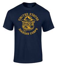 Fashion T-Shirts Summer Straight 100% Cotton US Marines Sgt Carter Bulldog Graphic Officially Licensed T Shirt