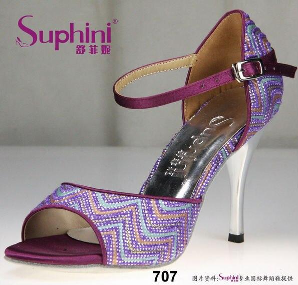 FREE SHIPPING Quanlity Guarantee Woman Dance Shoes High Heel Tango Shoes<br><br>Aliexpress