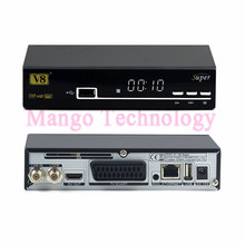High quality New V8 Super Satellite Receiver DVB-S2 Free to Air Full HD Support Full PowerVu,DRE,Biss key digital TV Box