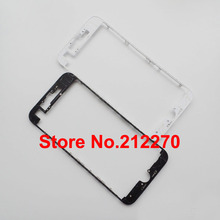 "50pcs/lot New Front LCD Middle Frame Bezel With Hot Glue Housing For iPhone 7 4.7"" Wholesale"