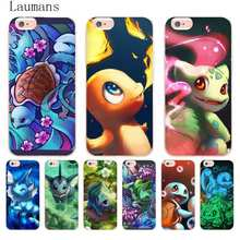 Laumans Charizard Squirtle Vaporeon Pokemons Phone Accessories Case Apple iPhone 8 7 6 6S Plus X 5 5S SE 5C 4 4S Cover