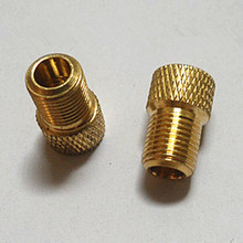 Copper road bike bicycle adapters wind fire wheels adapters gas nozzle air valve Conversion head Converter