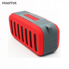 HAAYOT Jeep Wrangler Portable Bluetooth Handsfree Speaker Bass HIFI Stereo Dual Horns Waterproof Subwoofer Support TF FM AUX USB(China)