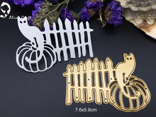 Metal cutting dies cat pumpkin garden fence farm Scrapbook card album paper craft home decoration embossing stencil cutter