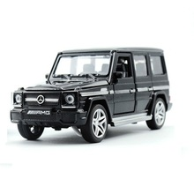 Alloy Benz G65 car model,  1:32 Die cast model, Classic Car Model, High quality  Collection level, light and music