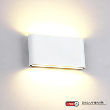 High Quality 8W 14W COB LED Wall Lamp Indoor Outdoor Lighting Waterproof IP65 Dimmable Surface Mounted Lamps Warm Cool White(China)
