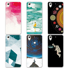 Couple Phone Case  For HTC Desire 626, 14 Patterns Universe Planet Astronauts Design Hard Plastic Coque For HTC Desire 626 626G