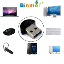 Binmer SimpleStone Binmer 2tb sd card Mini USB Bluetooth Dongle Adapter for Laptop PC Computers Win Xp Win7 8 for iPhone 4GS 5GS