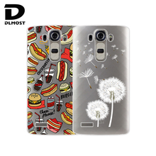"TPU Soft Cases For LG G4 H815 H818 5.5"" Transparent Printing Drawing Silicone Phone Cases Cover For LG G4 Fashion Phone Case"