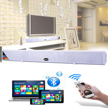Bluetooth TV Sound Bar Home Theater System Surround Sound HI-FI Wireless Wall Big Speaker Subwoofer For TV Mobile Phone Computer