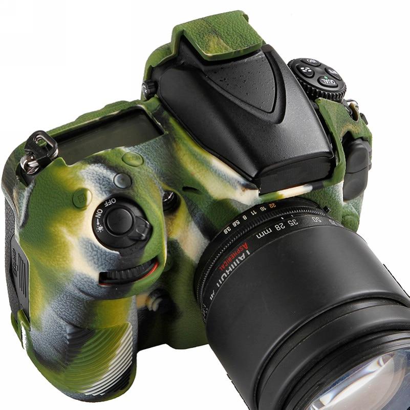 Soft Silicone Rubber Camera Bag For Nikon D810 D800 D850 Protective Body Case Skin DSLR Camera Rubber Cover Bag (14)
