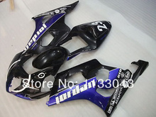 Injection For SUZUKI GSX-R1000 K3 03 04 Blue Black GSX R1000 K3 GSXR 1000 2003 2004 GSXR1000 Fairing Kit+7gifts