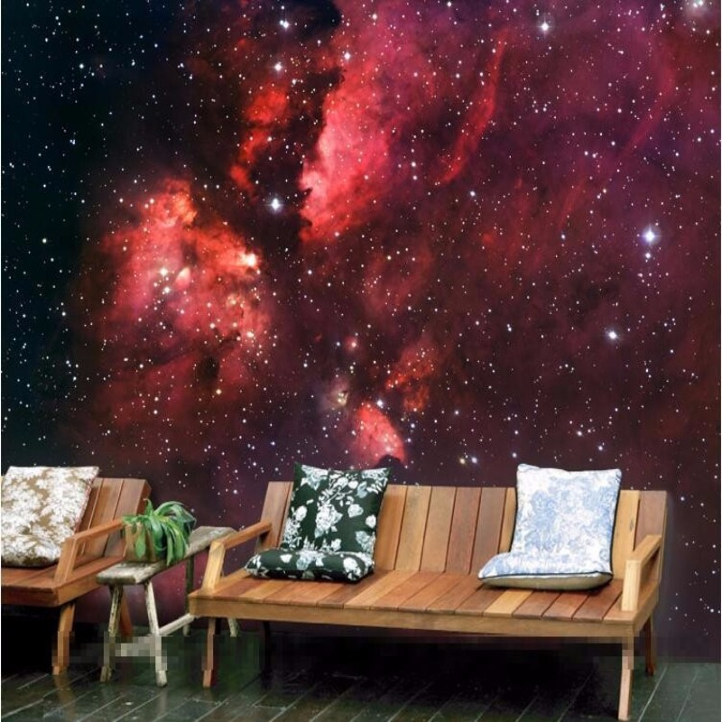 papel de parede Custom Photo 3D stereoscopic wallpaper stars universe nebula living room bedroom wallpaper murals zenith <br><br>Aliexpress