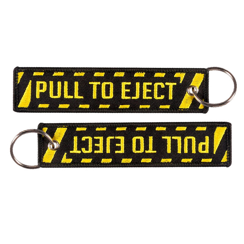 5 PCSLOT pull to eject keychain (5)