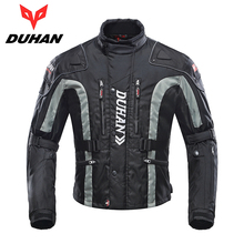 DUHAN Motorcycle Jacket Motocross Riding Windproof Jaqueta Clothing with Cotton Liner MX/Off-Road/Dirt Bike Racing Patrol Jacket(China)