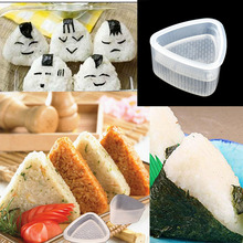 2Pcs Japanese Sushi Mold Original Maker Rice Ball Bento Press Mould Kitchen Tool