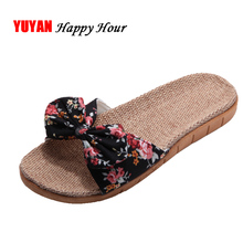 New 2017 Summer Flowers Bohemian Slippers Women Summer Shoes Fashion Women's Slippers Ladies Brand Beach Shoes ZH2391(China)