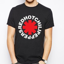 Nova Marca Rock Red Hot Chili Peppers Camisas de T T-Shirt Dos Homens do Algodão Camisetas Hombre nk Alternativa Do Punk Rap Tees Casual & Tops(China)