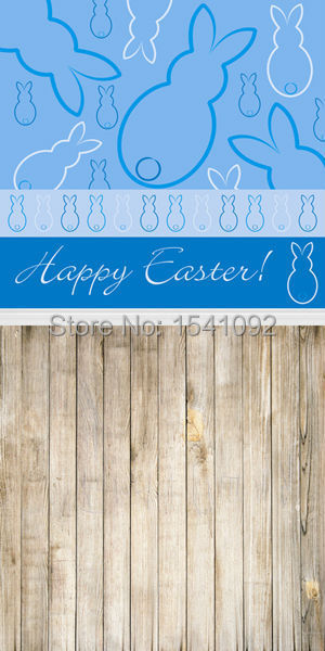 1.5X3M Customize vinyl photography backdrop newborn easter wood computer print  background for photo studio F042<br><br>Aliexpress