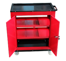 NS111812  Net Type Metal Trolley Tool Cabinet Tool Storage Cabinet