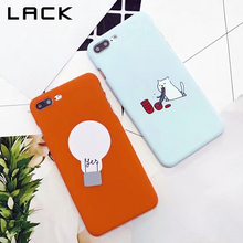 LACK Slim Hard Phone Case For iphone 6 Case Cute Cartoon Noodles Cat Print Cases Funny Bulb Pattern Cover For iphone 6S 7 Plus