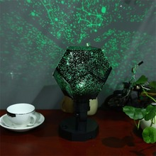 Night Light Celestial Star Sky Projector Cosmos Starry Christmas Sleep Soothing Color Changing Lamp For Kids Children Bedroom(China)