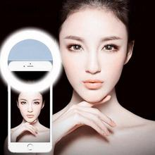 Gizcam LED Self-Timer Selfie Phone Fill Light Flash Camera Lamp For iOS Android Smart Mobile phone