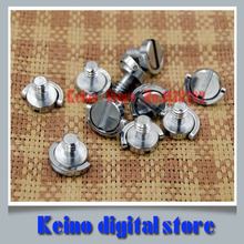 10 pcs Stainless steel  1/4 d-ring Camera Screw for DSLR Camera / Tripod / quick release Plate