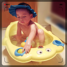 Cartoon Baby Tub Large Thickening Bathtub Infants and Young Children Tub Plastic Bath Tub Baby Basin