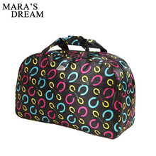 Mara's Dream Women Travel Bags Men Luggage Travel Duffle Bags Oxford Waterproof Daily Travel Handbag Bag Shoulder Hand Bag(China)