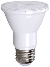 PAR20 7w (75w Equiv) 3000k 550 Lumen Dimmable Lamp - UL Listed