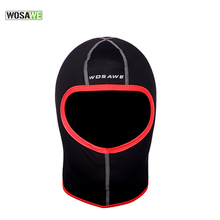 WOSAWE Face Shield Snowboard Balaclava Training Mask Half Dust Windproof Thermal Winter Face Mask Cycling Cold Scraf Cap Hat 40