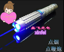 Hot  450nm High Power blue Beam Laser Pointer Pen 5000mW with charger and free shipping blue to chooice