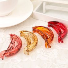 Fancyin Amazing Series High quality clip Pony Hair Holder Banana Small Hair clip 3.1 inches for Women and girls