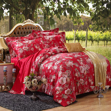 2015 Luxury brand Bedding Sets Duvet Cover / Pillowcase Reactive printing Bed Linen 4 Pcs Bed Set