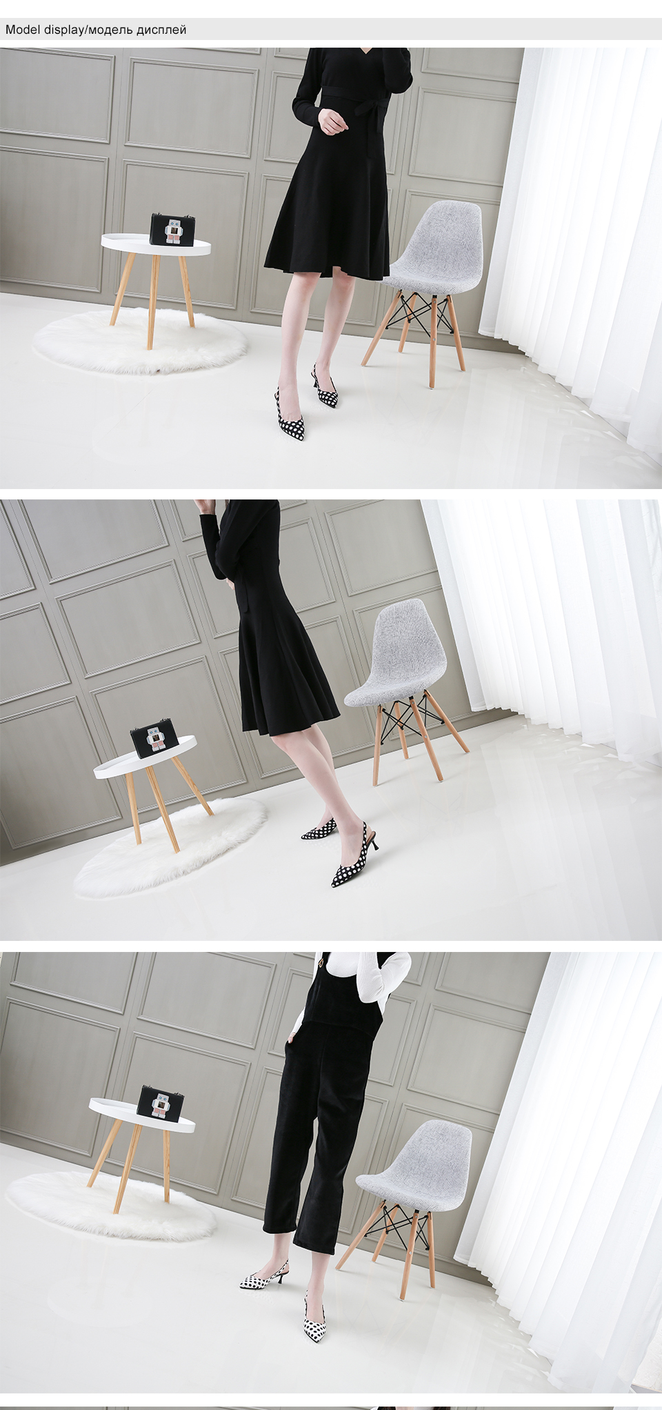 Brand Women Pumps High Heels Shoes Leather Spring Wave Point Single Women Dress Shoes Thin Heels Pointed Toe Party Pumps Lady 45 2