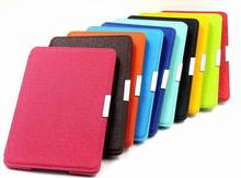 original leather case for kindle paperwhite touch screen 6 2015 all new kindle paperwhite  6'' ereader case+screen film