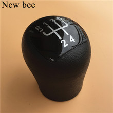 Newbee 5 Speed Car Gear Shift Knob Head Gear Gaitor Lever Handle For Renault Clio Kangoo 2006 2007 2008 Car Styling Accessories(China)