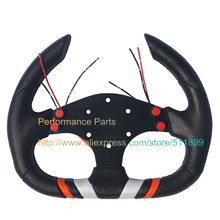 LYJ Performance Parts 310mm Racing Car Steering Wheel PU Game Steering Wheel