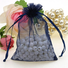 Gift Bags Wedding Party Organza Bags 50 Pcs/lot 10x15 Cm Pouches Jewelry Packaging Bags For Jewelry 7Z