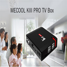 Buy MECOOL KIII PRO TV Box Amlogic S912 Octa Core Android 6.0 OS Dual Band WiFi 2.4G+5.0G RAM 3GB ROM 16GB Media Player for $132.70 in AliExpress store