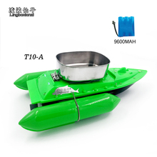 2017 Newest T10-A mini fast electric rc fishing bait boat 280M Remote Fish Finder fishing boat Lure boat rc boat 8Hours/9600MAH