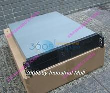 New 2u server computer case pc power supply large-panel 2 optical drive bit 4 hard drive 2u industrial computer case(China)