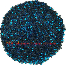 Hotfix rhinestone,1440pcs/bag,SS5(1.6mm) B Grade,Sky blue glass Crystal Rhinestone Garment Accessories for dress,clothes,hat(China)