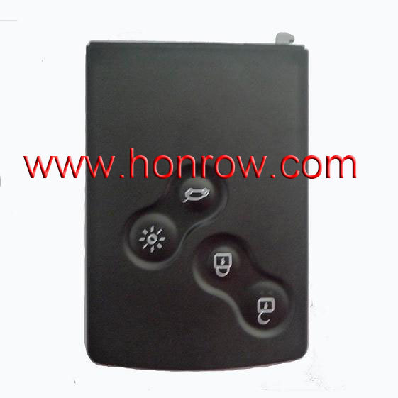 Free Shipping For Ren 4 button Remote key used for after 2009 year car without key blade 7947 chip<br><br>Aliexpress