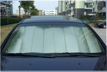 Car sunshade general car supplies car sun-shading radiation-resistant auto supplies(China)