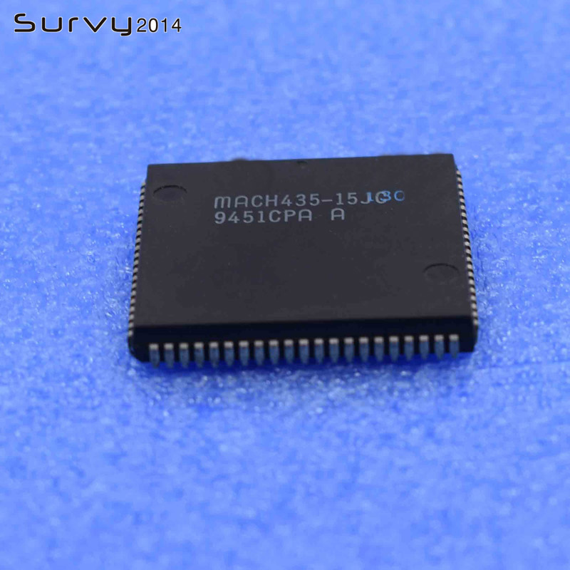 1PCS//5PCS MACH435-15JC PLCC High-Density EE CMOS Programmable Logic 84PINS