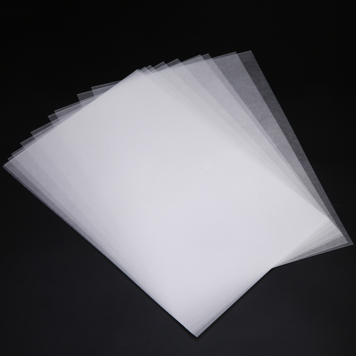 5x Heat Shrink Paper Film Sheets for DIY Jewelry Making Craft Rough Polish