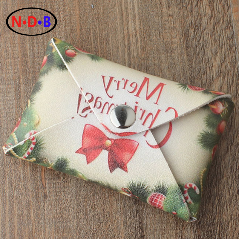 (Coin Purses)Europe and the United States  Christmas Merry student zero Wallet Coin Bag gender personality fashion bag LQB1052<br><br>Aliexpress