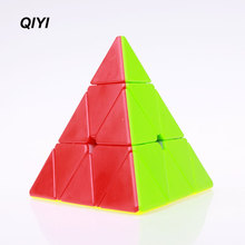 Original qiyi Puzzle pyraminx Speed Magic Cube pyramid Cubo Magico professional educational toys for children(China)